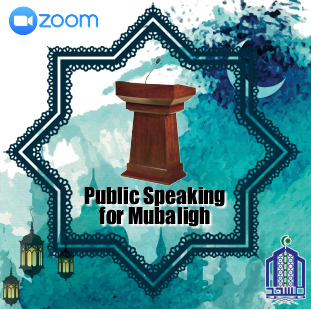 "Webminar ""Public Speaking for Mubaligh"" 21 April 2021"