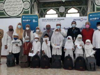 Berbagi Kebahagian Bersama Anak Yatim, Ramadan 1442H
